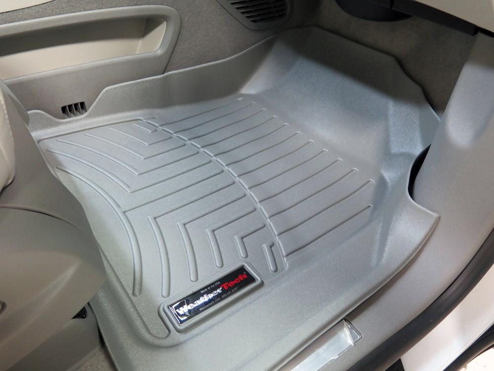 2014 Gmc Acadia Weathertech Front Auto Floor Mats Gray