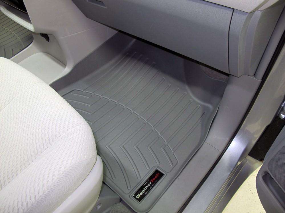 2012 Toyota Sienna Weathertech Front Auto Floor Mats Gray