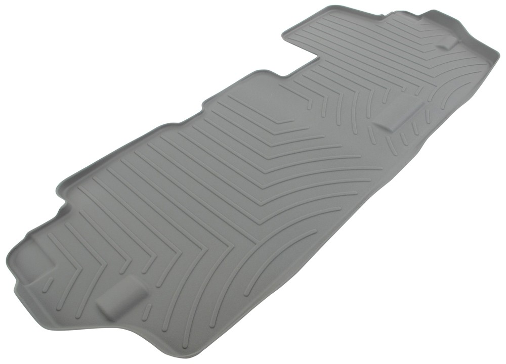 2015 toyota sienna weathertech 3rd row rear auto floor mat gray. Black Bedroom Furniture Sets. Home Design Ideas