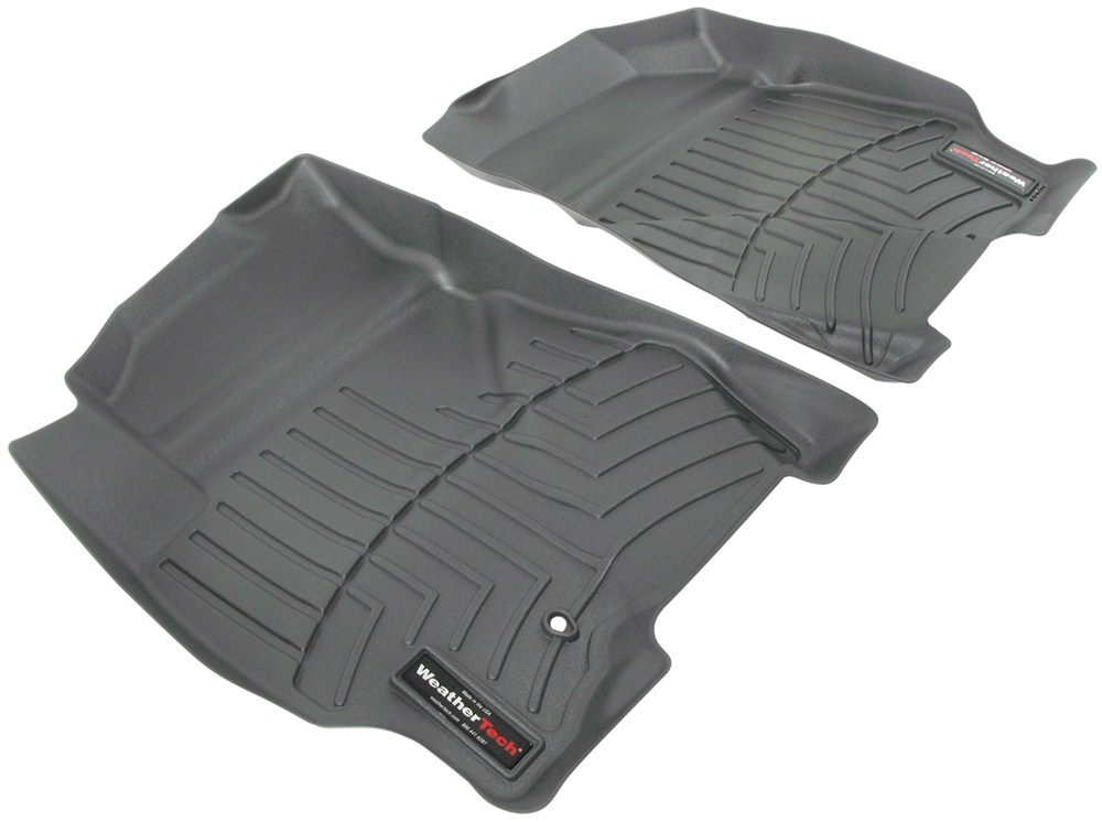 2010 ford escape weathertech front auto floor mats gray. Black Bedroom Furniture Sets. Home Design Ideas