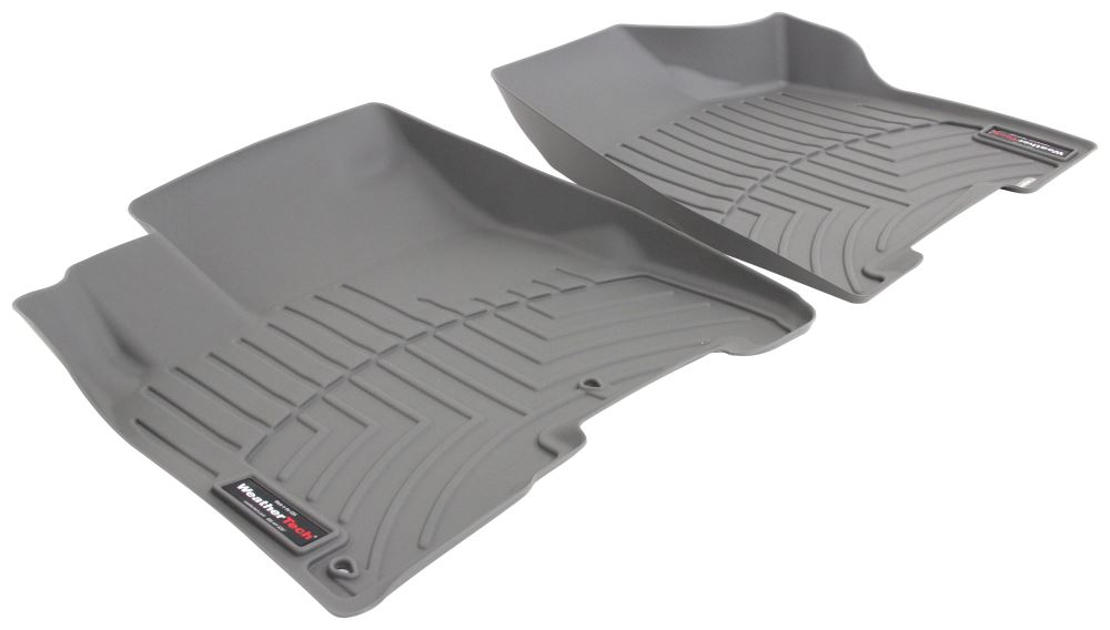 2004 toyota sienna weathertech front auto floor mats gray. Black Bedroom Furniture Sets. Home Design Ideas