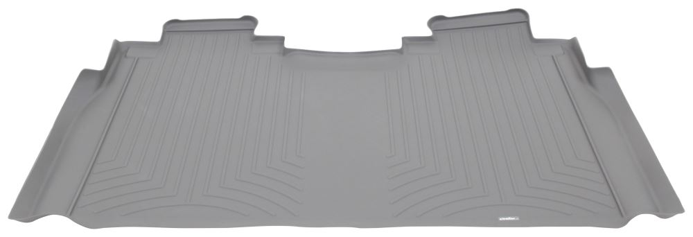 WeatherTech 2nd Row Rear Auto Floor Mat - Gray Contoured WT466974