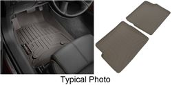 WeatherTech Custom Auto Floor Liners - Front and Rear - Cocoa