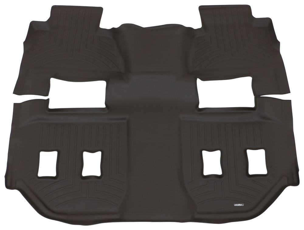 2016 Chevrolet Suburban Weathertech 2nd And 3rd Row Rear