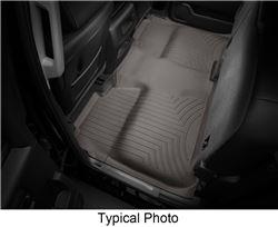 WeatherTech 2nd Row Rear Auto Floor Mat   Cocoa