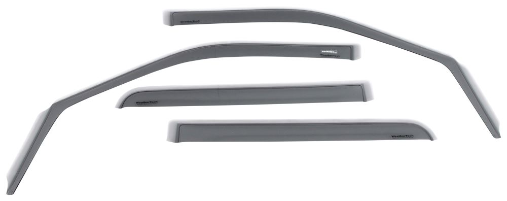 WeatherTech Side Window Air Deflectors with Light Tinting - Front and Rear - 4 Piece Front and Rear Windows WT72765