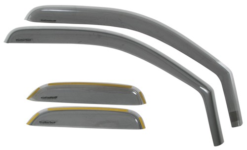 2008 chevrolet silverado weathertech side window air deflectors with light tinting