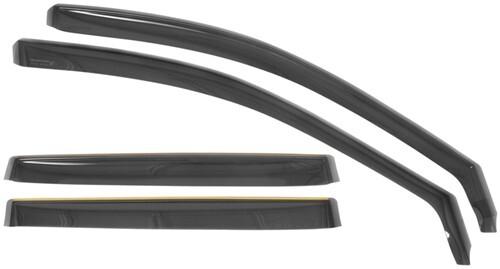 Matte Flat Black Door Pillar Post Cover fits Mitsubishi Endeavor 04-11