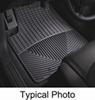 WeatherTech All-Weather Front Floor Mats - Black Rubber WTW275