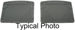 WeatherTech All-Weather Rear Floor Mats - Gray
