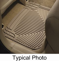 WeatherTech All-Weather Rear Floor Mats - Tan