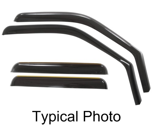 WT82464 - 4 Piece Set WeatherTech Air Deflectors