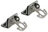 pilot automotive truck bed accessories no-drill application bully clamp movable tie down (pair)