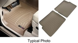 WeatherTech Custom Auto Floor Liners - Front and Rear - Tan