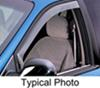 WeatherTech Side Window Air Deflectors with Light Tinting - Front - 2 Piece 2 Piece Set WT70537