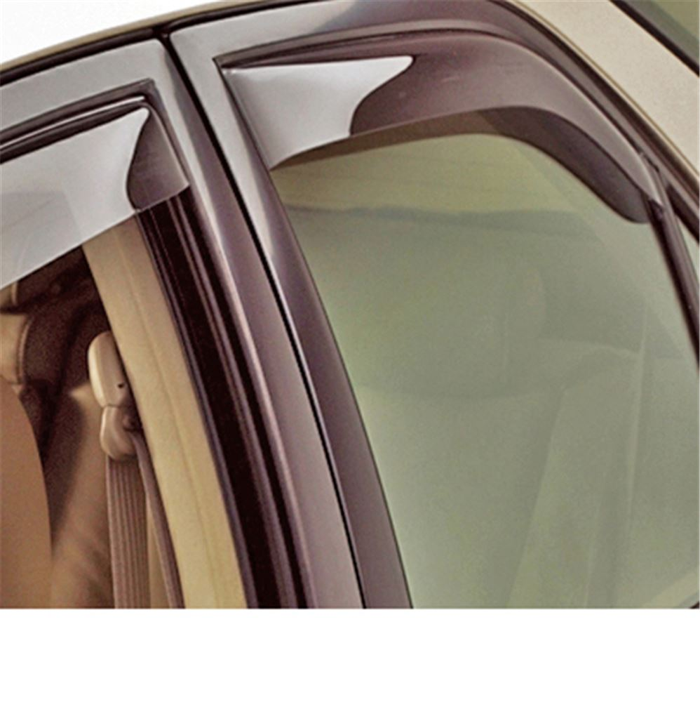 WT71281 - Rear Windows WeatherTech Air Deflectors