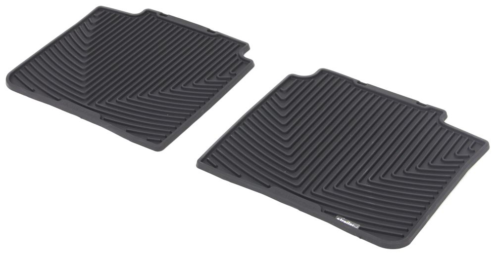 2016 toyota avalon weathertech all weather rear floor mats black. Black Bedroom Furniture Sets. Home Design Ideas