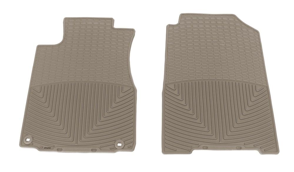 2014 honda cr v weathertech all weather front floor mats tan. Black Bedroom Furniture Sets. Home Design Ideas