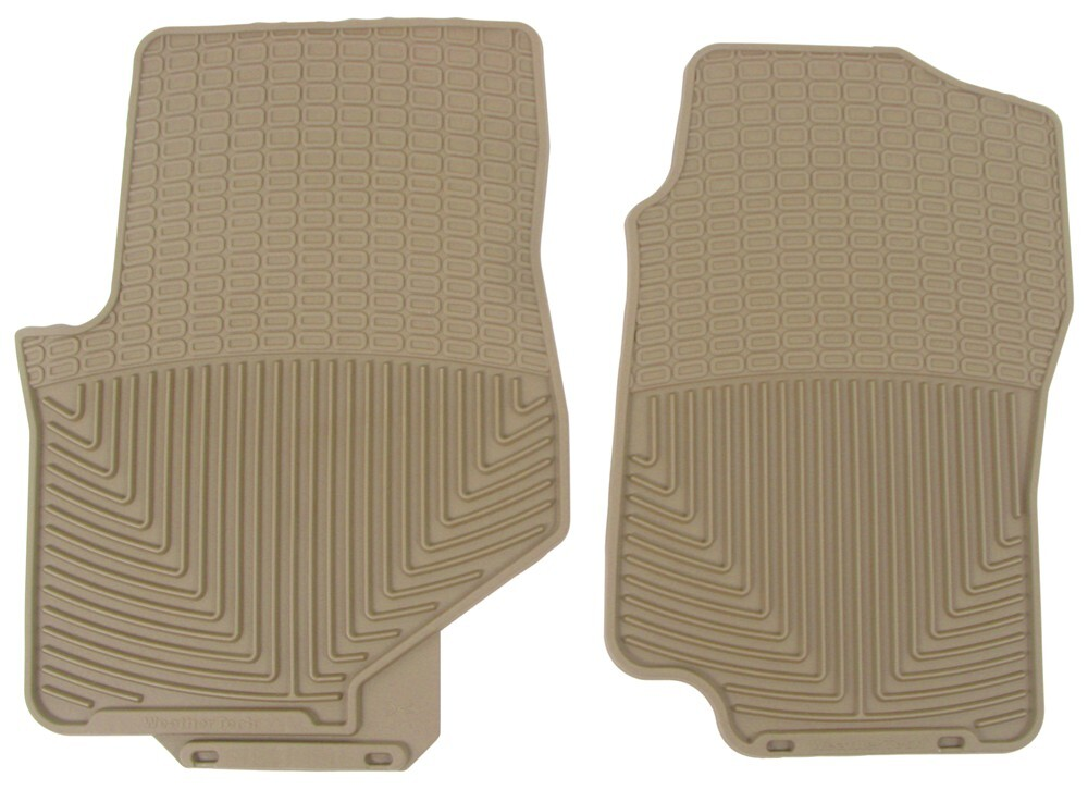 2006 Gmc Envoy Weathertech All Weather Front Floor Mats Tan