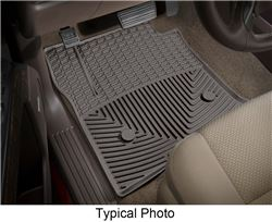 WeatherTech All-Weather Front Floor Mats - Cocoa