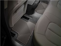 WeatherTech All-Weather Rear Floor Mats - Cocoa