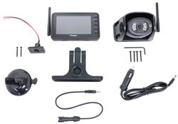 "Voyager WiSight RV Observation Camera System w/ Monitor and Mount - Wireless - 4.3"" Screen"