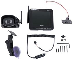 "Voyager WiSight RV Observation Camera System w/ Monitor and Mount - Wireless - 5.6"" Screen"