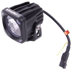 "Vision X Optimus Single Prime Pod Light - LED - 10 Watts - Wide Spot Beam - 3"" Wide"