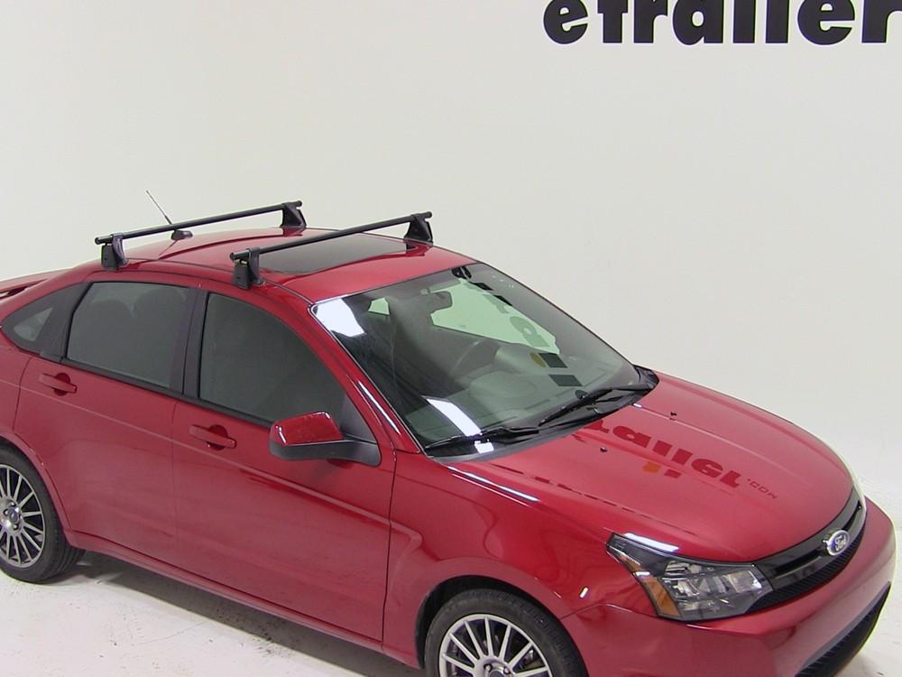 Yakima Roof Rack For 2009 Ford Focus Etrailer Com
