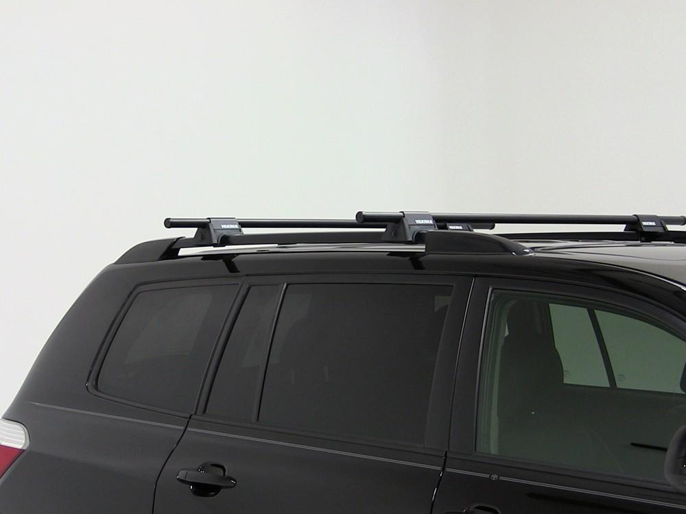 Yakima Roof Rack For Toyota Highlander 2011 Etrailer Com