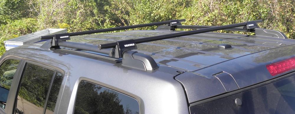 honda pilot yakima railgrab  crossbar roof rack kit