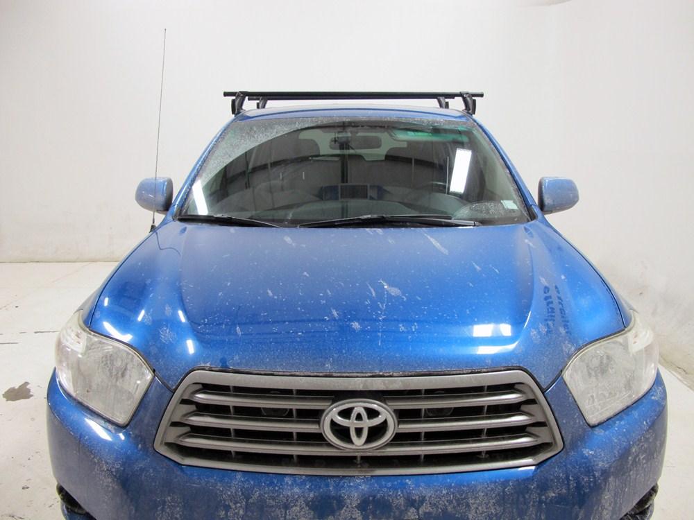 Yakima Roof Rack For 2012 Highlander By Toyota Etrailer Com