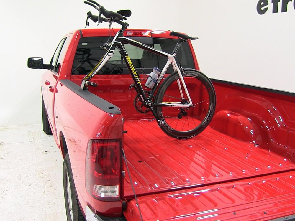 dodge ram pickup Yakima Locking BedHead Single Bike Truck Bed Mounted Rack - Clamp-on