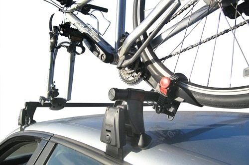 2002 Toyota 4runner Yakima Boa Roof Mounted Bike Carrier