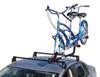 Yakima SideWinder Roof Mounted Tandem Bike Carrier with Wheel Mount on Vehicle