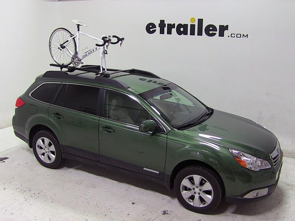 Subaru Outback Wagon Yakima Forklift Roof Mounted Bike