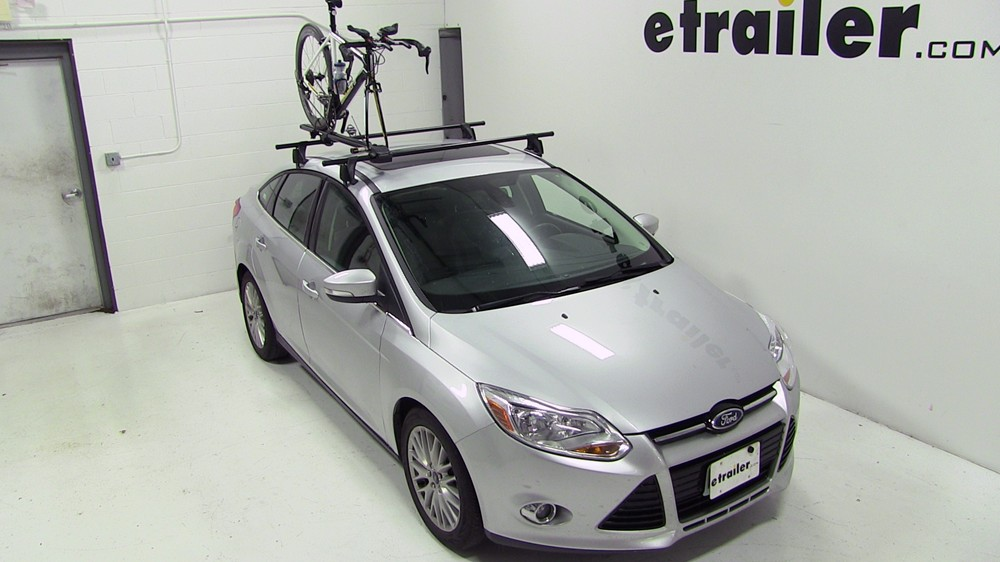 2016 Ford Focus Yakima Forklift Roof Mounted Bike Carrier
