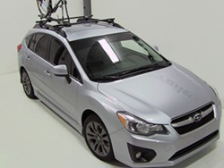 2016 subaru impreza yakima forklift roof mounted bike. Black Bedroom Furniture Sets. Home Design Ideas