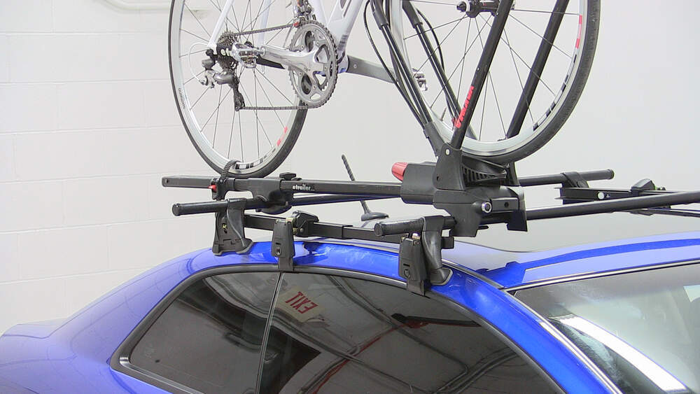 Kia Forte Koup Yakima Frontloader Wheel Mount Bike Carrier