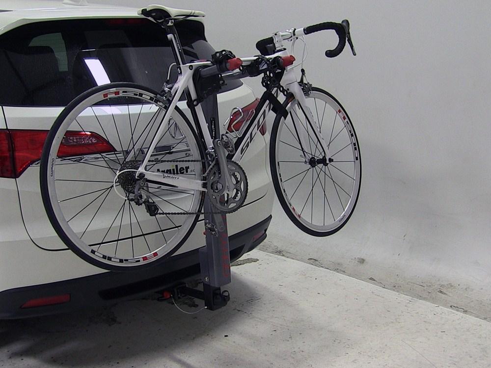 2013 acura rdx yakima highlite aluminum 2 bike rack for 1