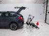 "Yakima HoldUp 4 Bike Rack - Platform Style - Tilting - 2"" Hitches Carbon Fiber Bikes,Electric Bikes,Heavy Bikes Y02443-2 on 2014 Subaru XV Crosst"