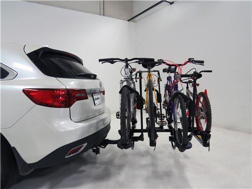 Yakima Holdup 2 >> Compare Plus 2 2 Bike Add On Vs Yakima Holdup 2 Etrailer Com
