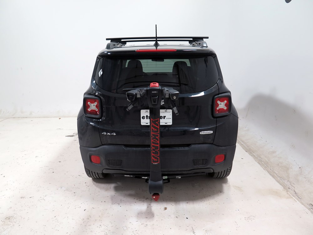 "Bike Rack For Jeep Renegade >> 2016 Jeep Renegade Yakima FullTilt 4 Bike Rack - 1-1/4"" and 2"" Hitches - Tilting"