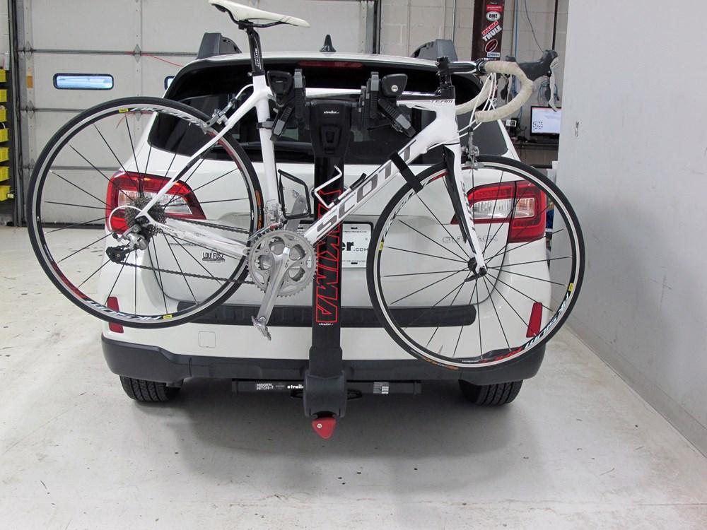 2016 Subaru Outback Wagon Yakima Fulltilt 4 Bike Rack 1