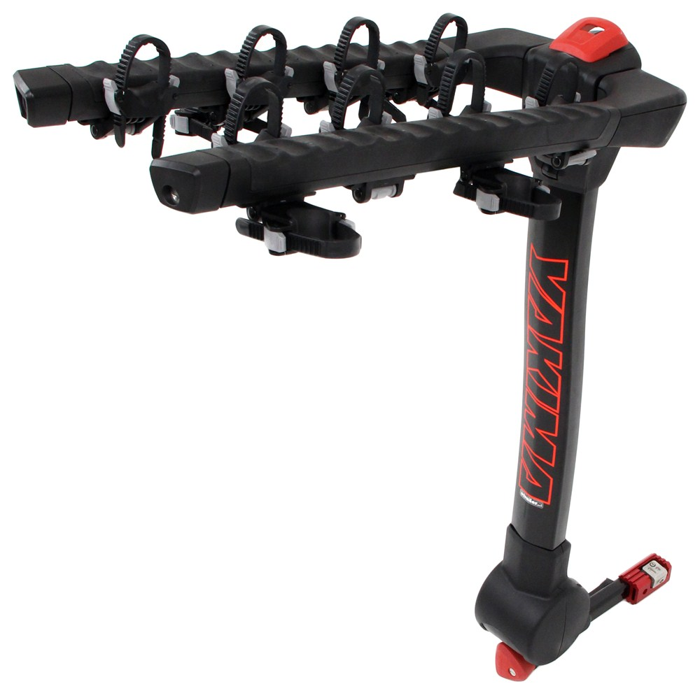 yakima fulltilt 4 bike rack 1 1 4 and 2 hitches tilting yakima hitch bike racks y02462. Black Bedroom Furniture Sets. Home Design Ideas