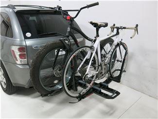 Bikes on Bike Rack Mounted on Van