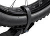 "Yakima SingleSpeed 1-Bike Platform Rack - 1-1/4"" and 2"" Hitches - Wheel Mount Bike and Hitch Lock Y02481"