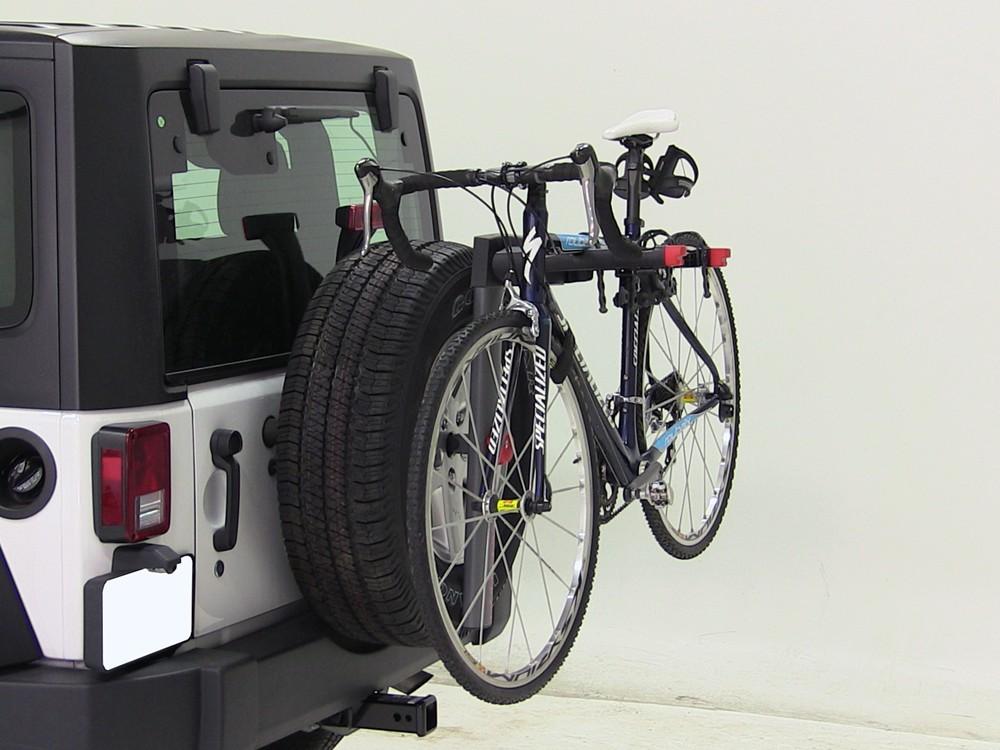 2012 jeep wrangler yakima sparetime 2 bike carrier spare. Black Bedroom Furniture Sets. Home Design Ideas