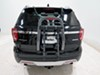 Yakima HalfBack 3 Bike Rack - Trunk Mount - Adjustable Arms Locks Not Included Y02635 on 2016 Ford Explorer