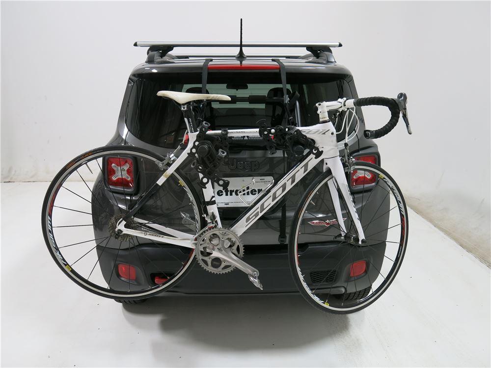 Subaru Crosstrek Bike Rack >> Yakima HangOut 3 Bike Rack - Trunk Mount - Adjustable Arms Yakima Trunk Bike Racks Y02638